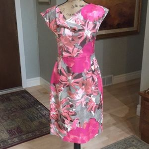 Banana Republic Multi Color Dress Size 4